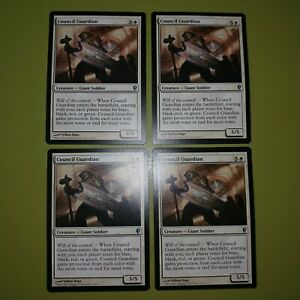 Council-Guardian-x4-Conspiracy-4x-Playset-Magic-the-Gathering-MTG