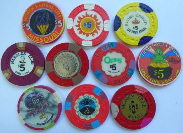 UNCIRCULATED $5 Las Vegas Palms Ozzy Osbourne Casino Chip