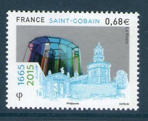 TIMBRE-4984-NEUF-XX-TTB-350-EME-ANNIVERSAIRE-DE-L-039-ENTREPRISE-SAINT-GOBAIN