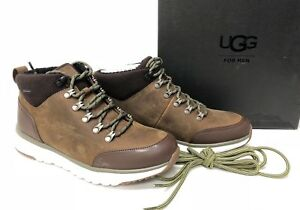 315d29fb7cb Details about Ugg Australia Olivert Men's Lace Up Ankle Boot Shoe  Waterproof Grizzly 1017275 ~