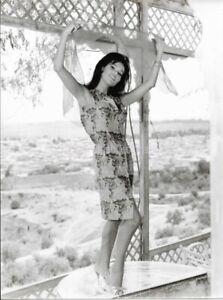 LAYA RAKI Dancer GERMAN FILM ACTRESS bw 8x10 FOUND  PHOTOGRAPH Portrait 98 28 B