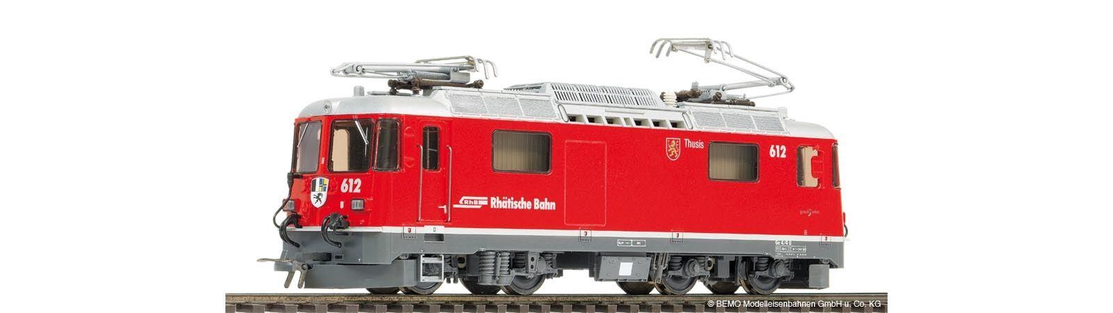 Bemo 1258 162  1258162 Schmalspur-E-Lok Ge4 Ge4 Ge4 4II 612 Ep5(2010) red Thusis H0m 0b40a1