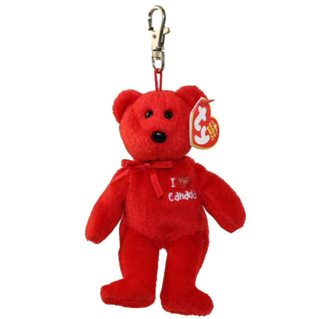 Buy Ty Beanie Baby I Love Canada The Red Bear W tags and Clip online ... e6001da5104