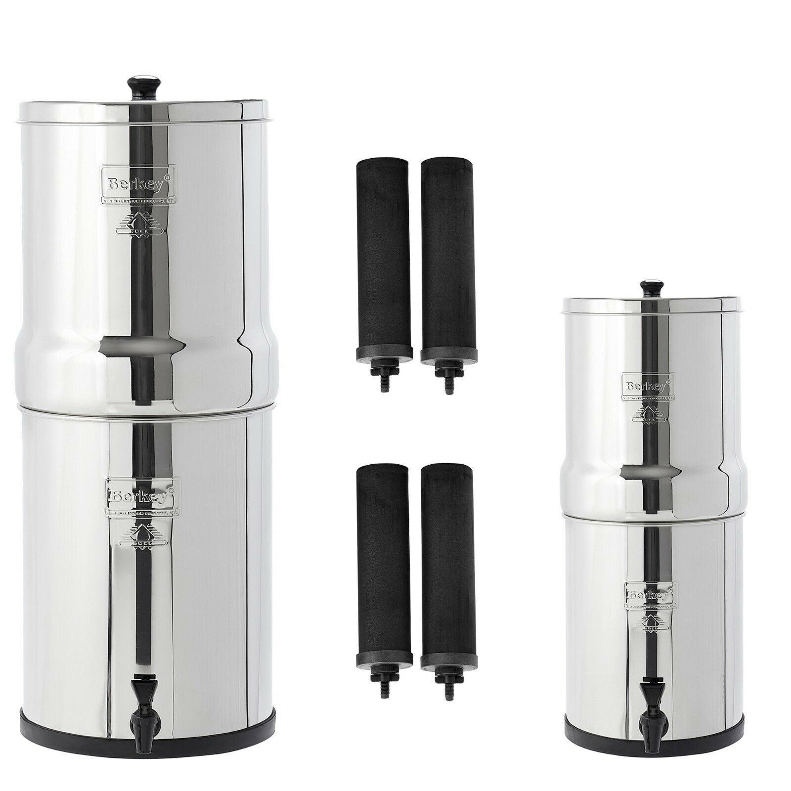 Imperial & Travel Berkey Water Filter Systems Bundle - 5% OFF