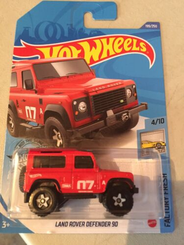 2020 HOTWHEELS LAND ROVER DEFENDER 90 BRAND NEW