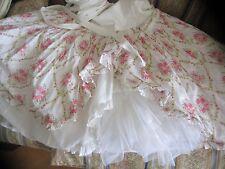 MOST BEAUTIFUL  DRESS 100%  JOTTUM 122 7/8  Girls Pink Wrap Peagent Portrait