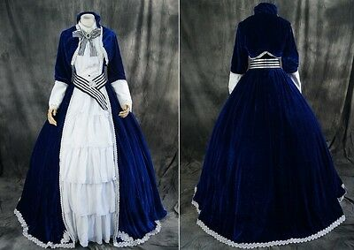 H-048 M/L/XL/XXL VOCALOID Kaito Victorian Cosplay Kostüm costume dress Kleid