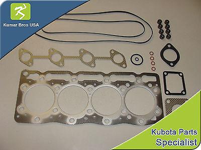 New Kubota V1505 Upper Gasket Kit