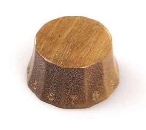 Tone Ninja Faceted Knob Genuine polished Maple Wood