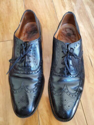 Vintage black  (Church's) shoes Wingtip Oxfords 9.