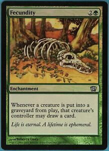 Fecundity FOIL Ultimate Masters NM-M Green Uncommon MAGIC MTG CARD ABUGames