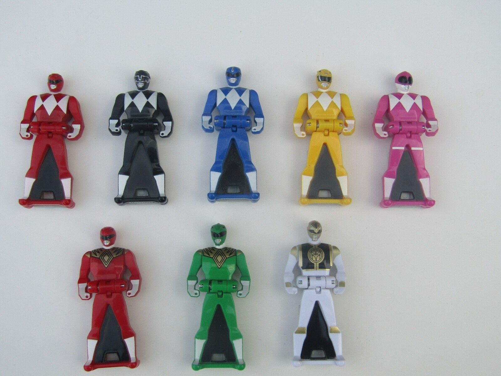 LOOSE  Power Rangers Key MMPR + Legendary Lot of 8