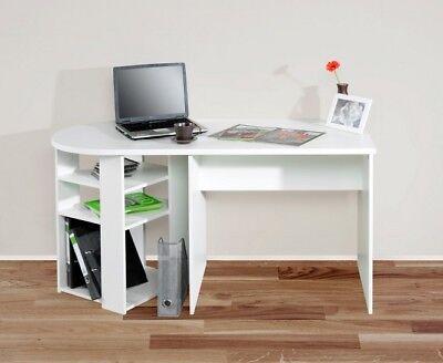 Schreibtisch Weiß Mit Regal 2021