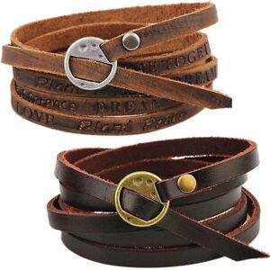 Bracciale-uomo-multistrato-braccialetto-maschile-polso-accessori-stile-ecopelle