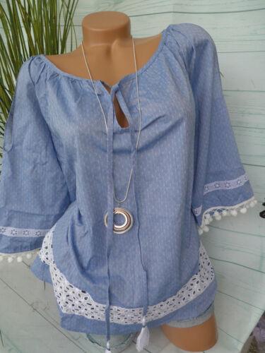 804 Rick Cardona Heine túnica blusa talla 34-44 con punta
