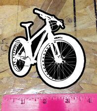 "Fatbike Decal Window Sticker Mountain Bike Fat Snow Sand 4"""