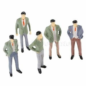 100pcs-Pack-Multicolor-Model-Passengers-Figures-Train-Scenery-Layout-1-75-Scale