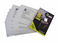 Paper Shredder Self Lubricant Sheet Oil Lube Lubrication 2 Packages 24 Sheets