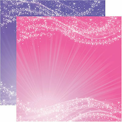 2PCS Reminisce OUR FAMILY 12x12 Dbl-Sided Scrapbooking Paper
