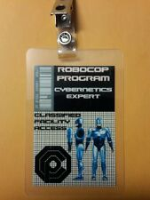 Robocop ID Badge - Cybernetics Expert cosplay prop costume