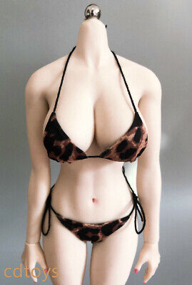 "CDtoys 1//6 Female Leopard Bikini Underwear Clothes Bra Panties for 12/"" Figure"