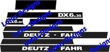 deutz fahr DX6.30 stickers / decals