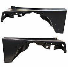 Set of 2 CH1240225 CH1241225 Front Fenders Pair For Jeep Wrangler TJ 1997-2006