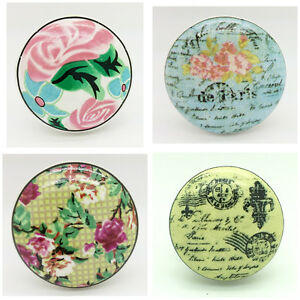 Bon Image Is Loading Post Cards Ceramic Door Knobs Vintage Shabby Chic