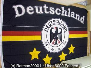 Fahnen flagge deutschland schwarz 4 sterne fan 2 150 x for Koch 2 sterne deutschland