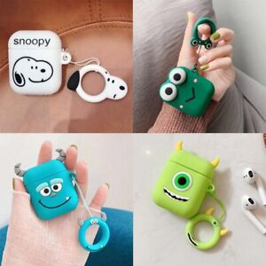 Monster Sully Applicable For Apple Airpods 1 2 Cover Cartoon Shell Silicone Case Ebay