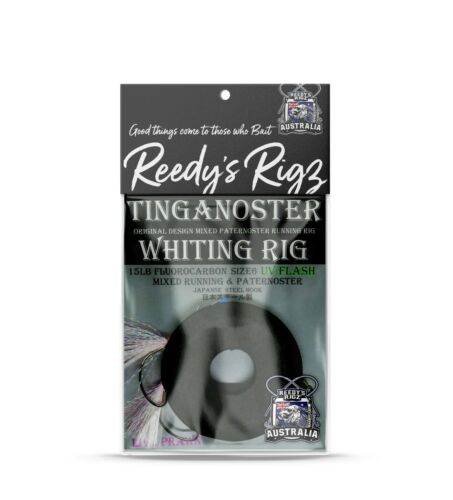 Running Rig Reedy/'s 3x Tinganoster Whiting Rig UV Size 6 Paternoster Rig