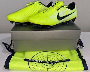 Nike-Phantom-Venom-Elite-FG-ACC-Men-039-s-Sz-6-5-Soccer-Cleat-Neon-Green-AO7540-717