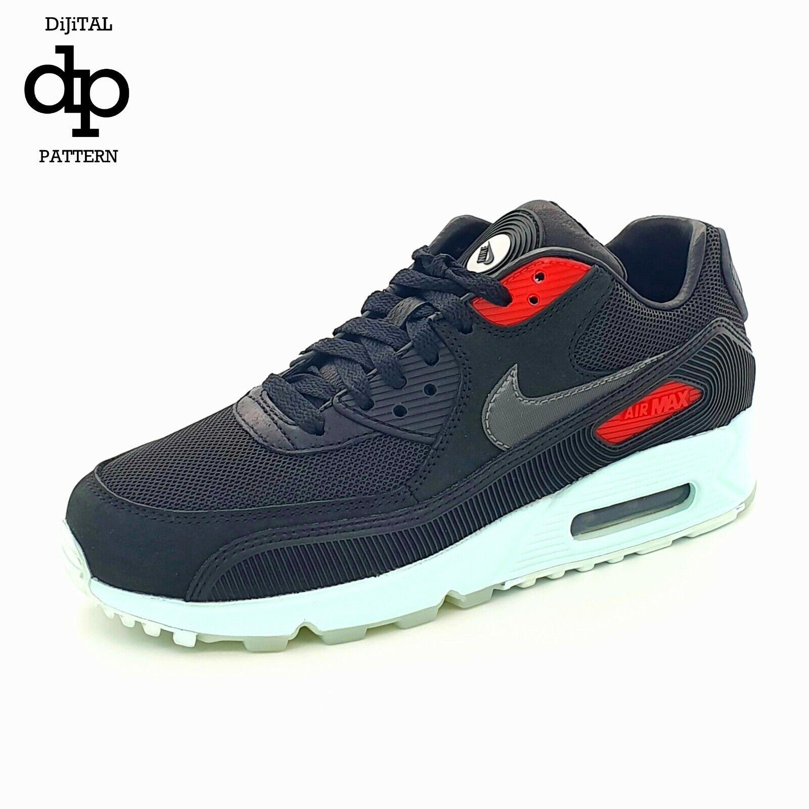Nike Air Max 90 Premium/Vinyle/Cool Turquoise CK0902-001 ~ UK 5/US 6/EU 38