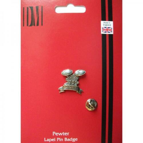 Clay English Pewter LAPEL PIN Badge Pigeon Shooting Shooter Present GIFT BOX