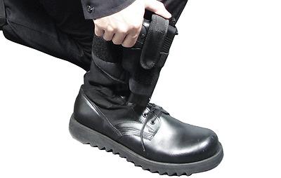 UTG Tactical Concealed Pistols Ankle Holster Glock Back UP PVC-H190B New BLACK