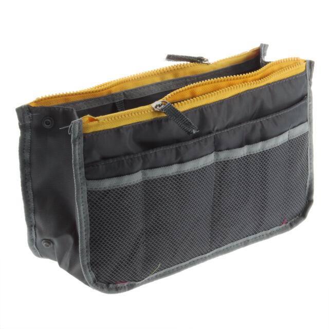 Women Travel Insert Handbag Organiser Purse Large liner Organizer Bag Amazing T