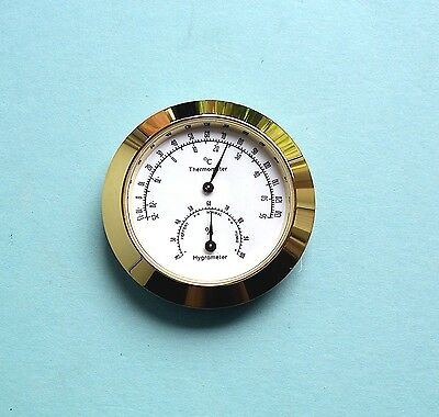 Hygrometer Insert Kit woodturning//craft project Prokraft HT1 Thermometer