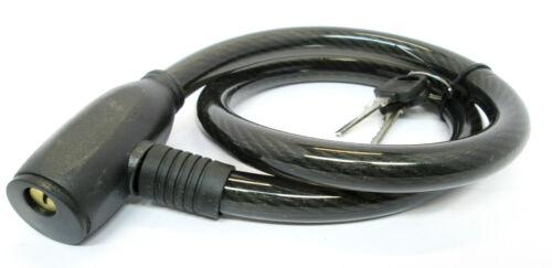 Lock  NEW TZ  LK097 Bicycle Padlock  Security Etc 13mm X 800mm Cable Bike