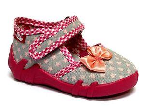 Mädchen Hausschuhe RenBut Kinder Textil Freizeit Schuhe Ballerina Kindergarten