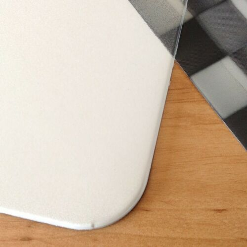 Schreibtischunterlage Set 40 x 60 cm mit Mousepad transparent z Selbstgestaltung