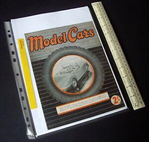 """1950/1980s """"Model Cars"""" Mag V2#19 RTP Rail & Track Ivan Prior Desktop Copy. N408"""