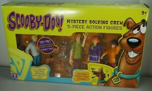 SCOOBY DOO The Mystery Crew Fred Shaggy Daphne Velma Action Figures New BOXED
