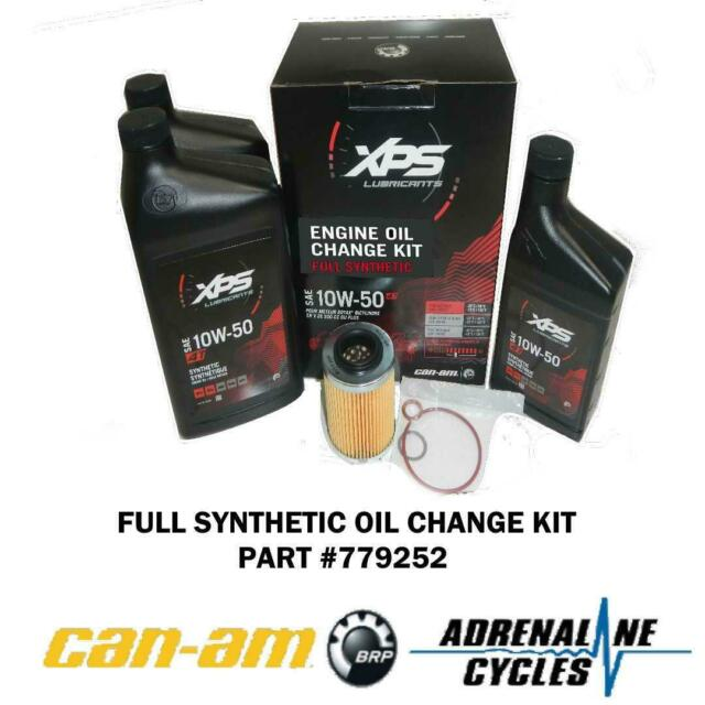 Synthetic Oil Change >> 2007 2019 Can Am Maverick Renegade Oem 10w 50 Full Synthetic Oil Change 779252
