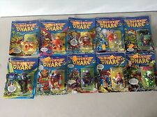 Bucky O'Hare Figure Lot Complete Set of 10 Carded Hasbro 1991