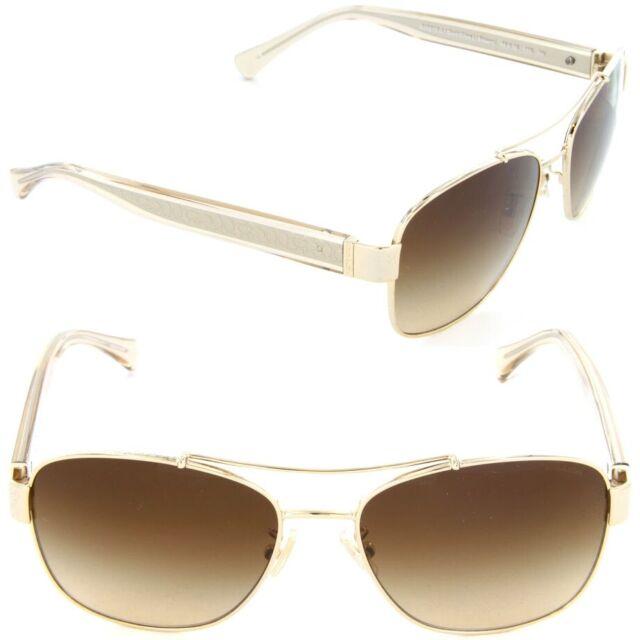 513df2731473 Coach Sunglasses Women HC 7064 Gold 926513 Hc7064 56mm for sale ...