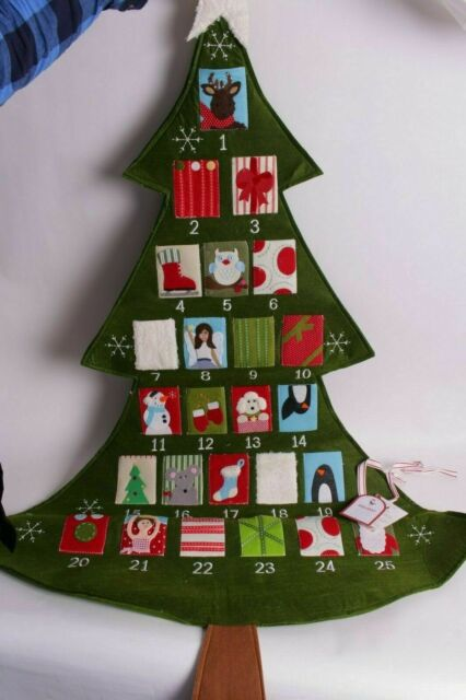Nwt Pottery Barn Kids Telluride Christmas Tree Advent