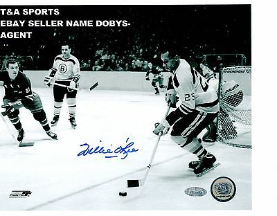 WILLIE O'REE BOSTON BRUINS SIGNED 8X10 1ST NEGRO IN NHL ...