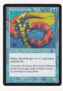 English Timeshifted MTG Magic 1x Lord of Atlantis Light Play