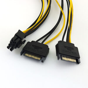 1pc-2x-SATA-15-Pin-Male-to-6-2-Pin-8Pin-PCI-E-Express-Video-Power-Adapter-Cable