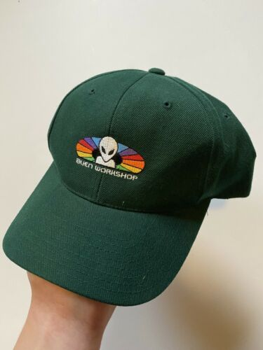 Vintage Alien Workshop Spectrum Hat 90s World Indu